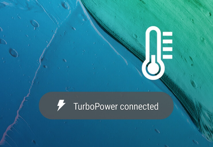 Thermal management is critical to top performance. Prolonged exposure to excessive heat can damage a battery. The TurboPower system is designed to avoid charging slowdowns due to heat, maintaining a steady and fast charging rate.